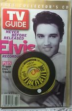 TV Guide Jul 4-10 2004 Elvis With Free Collector's CD  Sealed- Never Used