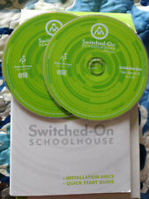 2015 Edition Switched On Schoolhouse Installation Disc Cd-Rom Alpha Omega Public