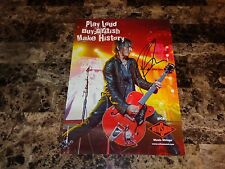 Richard Fortus Rare Authentic Signed Promo Poster Guns N' Roses The Dead Daisies
