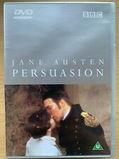 Persuasion DVD 1995 BBC Jane Austen Costume Drama Classic w/ Ciaran Hinds