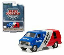 GREENLIGHT 1/64 BLUE COLLAR COLLECTION 1976 DODGE B100 VAN MOPAR DELIVERY 35040C