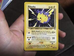 PIKACHU 70/111 Neo Set Unlimited WOTC Original Pokemon Card