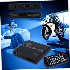 Mini Voll 1080p HD Media Player Box MPEG/MKV/H.264 HDMI AV USB   FernbedienuYP