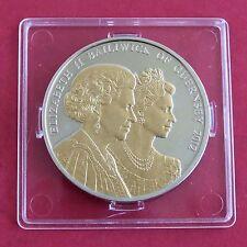 GUERNSEY 2012 DIAMOND JUBILEE PROOF £5 CROWN