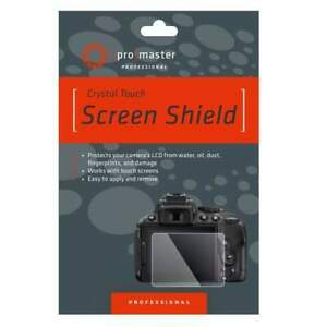 Promaster Crystal Touch Screen Shield - Canon 77D, T7i, T6I, T5I, T4I