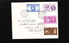 Great Britain George Vi Fdc Universal Postal Union Set Grassmarket Edinbnrough *