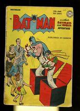 Batman 45 GD 2.0 * 1 Book Lot * DC Comics! Detective! 1948! Catwoman! Robin!