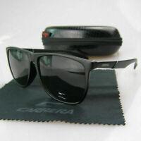2019 Men Womens Retro Unisex Sunglasses Aviator Matte Black Carrera Glasses JX99