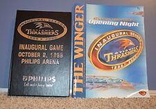 1999 2000 ATLANTA THRASHERS INAUGURAL SEASON TICKET AND PROGRAM BOOKLET