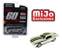 "Greenlight 1/64 ""Gone in 60 Second"" 1967 Ford Mustang ""Eleanor"" Chrome Car 51227"
