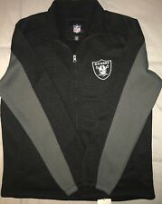Oakland Raiders Official Licensed Nfl Ribbed Sweater Embroidered Size Mens Lg.