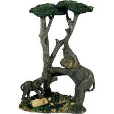 Elefantenfamilie am Baum, Deko Haus Hausdeko Figur Indoor Elefant, Elefanten