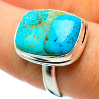 Chrysocolla 925 Sterling Silver Ring Size 8.75 Ana Co Jewelry R33819F