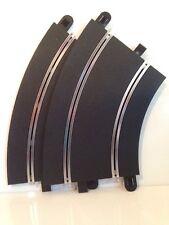 Scalextric C8206 sport track Rad2 curve 45 deg pk de 2 neuf carton free uk post