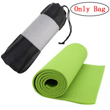 Popular Yoga Pilates Mat Mattress Case Bag Gym Fitness Exercise Workout Carr~GN