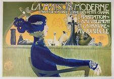 La Maison Moderne Poster Fine Art Lithograph Manuel Orazi S2