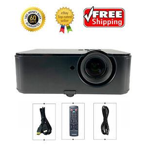 InFocus IN3124 DLP Projector XGA Conference Room 4800 ANSI 3D 1080p HDMI bundle