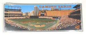 "1992 First Camden Pitch Camden Yards Matinee Artwork by Bill Purdom 15"" x 6"""