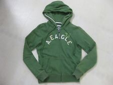 American Eagle Zip Up Hoodie w/Front Pockets / Green / Small / EUC