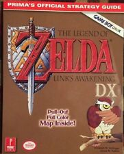 THE LEGEND OF ZELDA LINK'S AWAKENING DX PRIMA STRATEGY GAME GUIDE + PULL OUT MAP