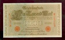 Banknote 1000 Mark 1910 Ro.45 (I-)