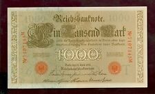 Banknote 1000 Reichsmark 1910 Ro.45 (I-)