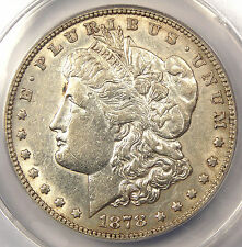 "1878 ""Doubled P"" 7TF Morgan Silver Dollar $1 VAM-168 - ANACS AU53 Details"