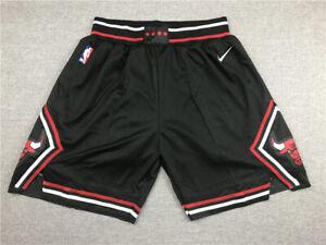 New Adult Size Black Color Chicago Bulls Shorts S M L XL XXL