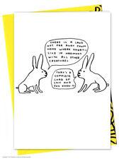 David Shrigley anniversaire carte de voeux humour comédie fantaisie coquin
