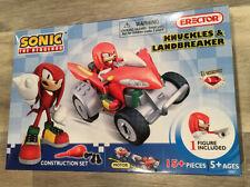 Sonic the Hedgehog Erector Set Knuckles & Landbreaker Construction Set NEW
