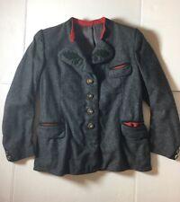 Vintage Civil War Style Gray Color Wool Jacket Men Size Medium