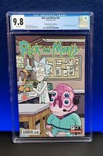 Rick and Morty #52 CGC 9.8 SDCC Exclusive Variant 1st comic appearance Glootie