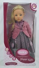 "Gotz happy kidz Sophia 19"" doll blond hair and blue eyes"