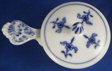 Meissen Porcelain Blue Onion Tealight Tea Light & Lid Porzellan Zwiebelmuster