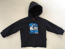 Quiksilver Toddler Boys 18 Months Sherpa Lined Zip Hoodie