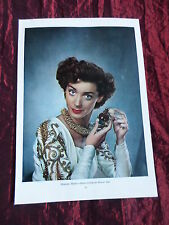 """MARSHA HUNT - FILM STAR - """"1 PAGE PICTURE """" - CLIPPING/CUTTING"""