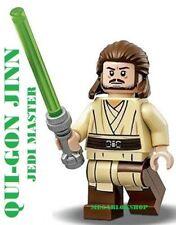 LEGO STAR WARS JEDI QUI GON JINN 100% LEGO JEDI MASTER NEW SET 75169 JEDI KNIGHT
