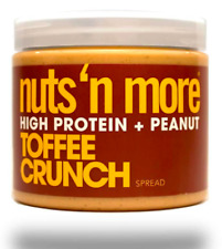 Keto: Nuts 'N More low carb Peanut Spread Toffee Crunch 16 oz 2ct (7 carbs)