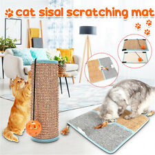 Kitty Sisal Mat Cat Scratching Pad Post Board Sofa Scratcher Furniture