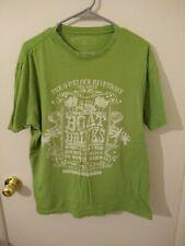 Jimmy Buffett Margaritaville Boat Drinks Women's Green T-Shirt XL Extra Large
