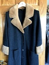 LORO PIANA Woman's 100% Cashmere & Fur Coat Sweater 46