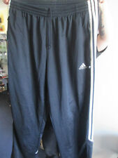 "Football Tracksuit Bottoms Navy Blue 38"" waist Adults /bi"