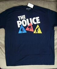 The Police Sting Rock Band Retro Image T Shirt_ Size 2XL_ New with tags_Licensed