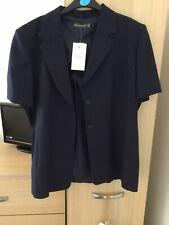 Atmosphere Ladies Jacket, Short Sleeves, Navy, Size 18. BNWT.