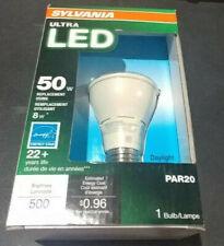 Sylvania Ultra LED 50W replacement using 8W Par20 500 lumens 3pk