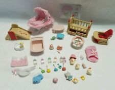 Calico Critters Baby Nursery Room Furniture Accessories Set Lot