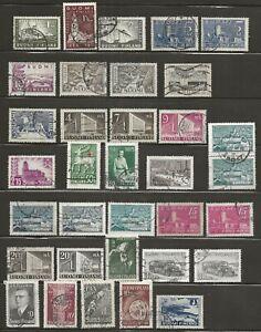 Finnland:  Lot mit 34 Marken o. gestempelt ex Jahre 1929/47 Teil 5
