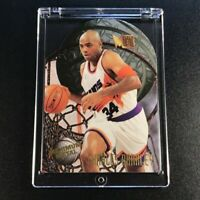 CHARLES BARKLEY 1995 FLEER METAL #1 MAXIMUM METAL DIE CUT FOIL INSERT NBA HOF