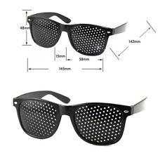 Pinhole Glasses Designer Fashion Improve Eyecare