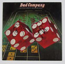 Bad Company Straight Shooter Signed Autograph Record Album JSA Vinyl Paul Rogers